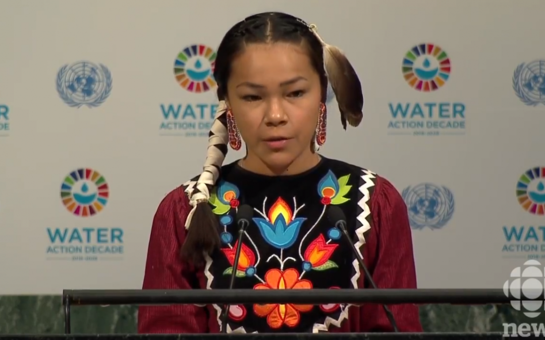 This 13-Year-Old Water Advocate Addressed the UN